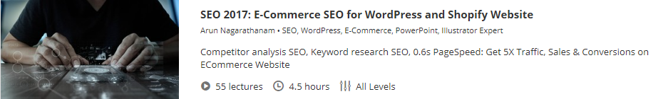E-Commerce SEO for WordPress and Shopify Website