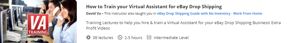 How to Train your Virtual Assistant for eBay Drop Shipping